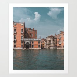 Grand Canal of Venice // Traveling & Lifestyle Collection Art Print Art Print