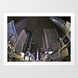 NYC - Time Square Art Print