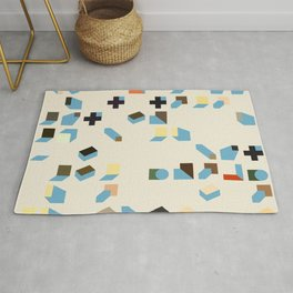 Abstract Geometric Artwork 75 Rug