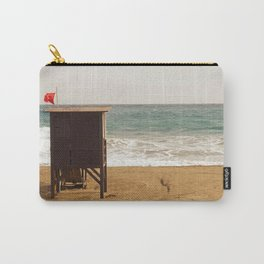 Empty Beach Carry-All Pouch