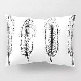 Four feathers Pillow Sham