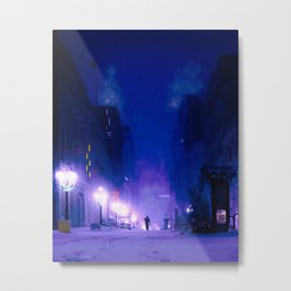 is this how it ends Metal Print