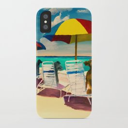 Beach Day iPhone Case