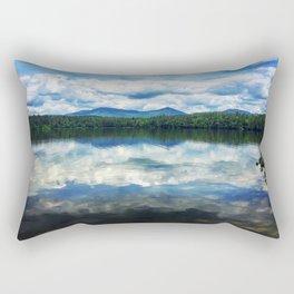 Mountains and Sky Rectangular Pillow