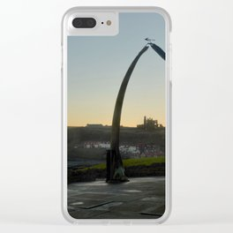 Whitby Whalebone Golden Hour Clear iPhone Case