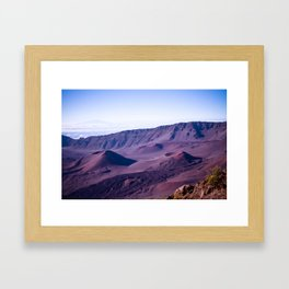 Haleakalā Sunrise On The Summit Maui Hawaii Kalahaku Framed Art Print