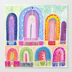 Arches Study #2 Canvas Print
