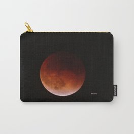 Blood Moon through Southern California Haze Carry-All Pouch