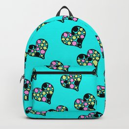 Heart Turquoise Backpack