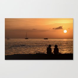 Tranquil Friends Canvas Print