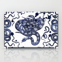 snake iPad Cases featuring SNAKE by DIVIDUS
