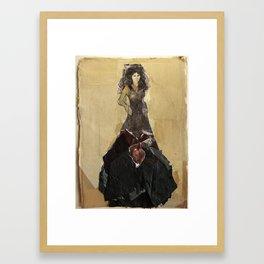 Hommage à Goya VII Framed Art Print