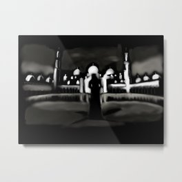 61 - minarets and a shadow Metal Print