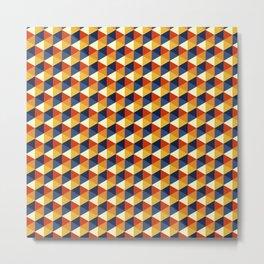 Siux hexagons Metal Print