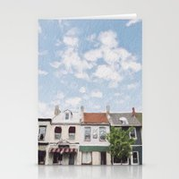 caleb troy Stationery Cards featuring Troy, Ohio by Andrea Bell of Tether & Fly