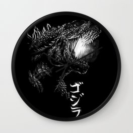 Waterbrushed Dark King 2019 Wall Clock