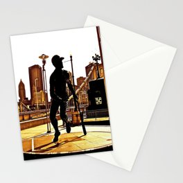 Roberto's Shadow Lives In Roberto's City Stationery Cards