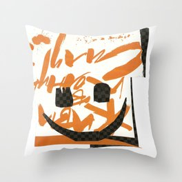 """Give life in complete force"" or ""Live your life to the fullest potential"":) Throw Pillow"