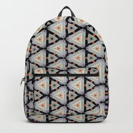 Fumy Marabout Pattern Backpack