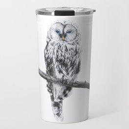 Owl of freedom Travel Mug