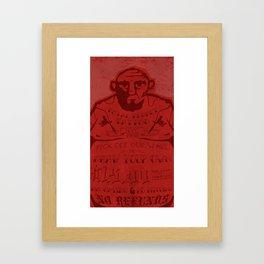 Total Regret Tattoo Framed Art Print
