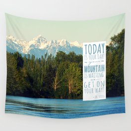 Get On Your Way! Wall Tapestry