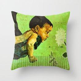 BEE tween worlds - infinity Throw Pillow