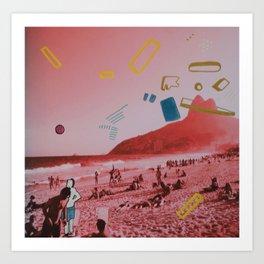 Praia Bonita Art Print