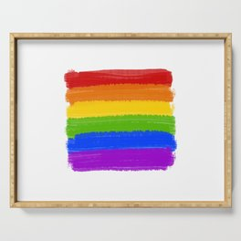 Rainbow Pride Flag Serving Tray