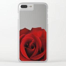 Dark rose 1 Clear iPhone Case