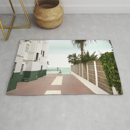 Road to the Beach - Landscape Photography Rug