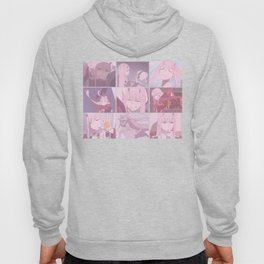 Darling in the FranXX Zero Two Grid Hoody