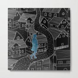 Dream walker / Illustration Metal Print