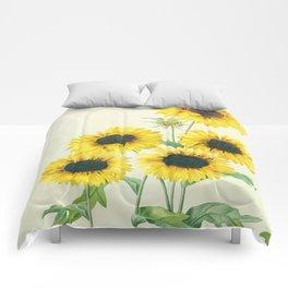 Sunflowers Comforters