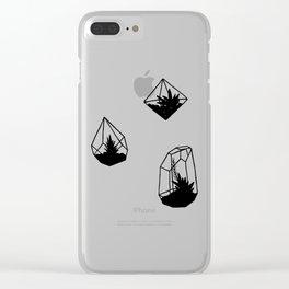 Terrariums Clear iPhone Case