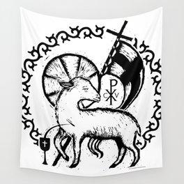 Agnus Dei (Christus Victor Edition) Wall Tapestry