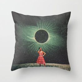 Total Eclipse of You Throw Pillow