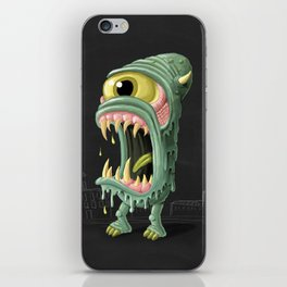 Meltmouth the Monster iPhone Skin