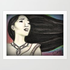 Painting the Wind Art Print