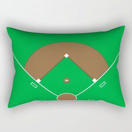 Baseball Field Team Sports Rectangular Pillow