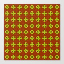 Leaf clover 4 Canvas Print