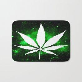 Weed : High Times Green Galaxy Bath Mat