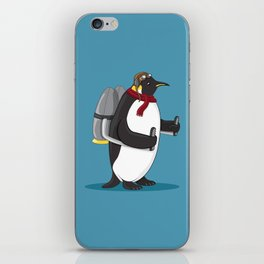 Fowl in Flight iPhone Skin