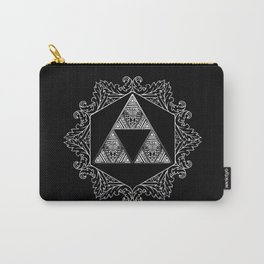 Triforce Aztec Pattern Carry-All Pouch