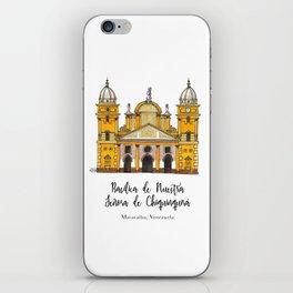 Basilica de Nuestra Senora de Chiquinquira iPhone Skin