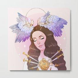 Heavenly Metal Print