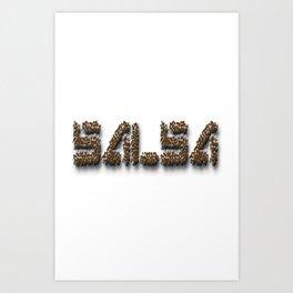 Salsa Dance IV Dance Art Print