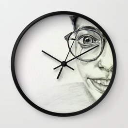 JAZMIN. Wall Clock