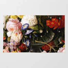 Flowers and Fruit Rug