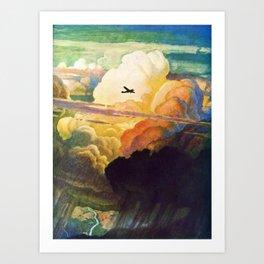 Catmota - N.C. Wyeth Art Print